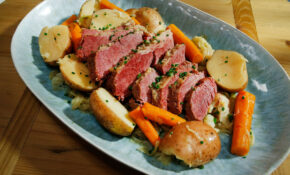Slow Cooker Corned Beef And Cabbage – Recipes Leftover Steak Food Network