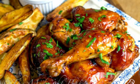 Slow Cooker Fruity BBQ Chicken – The Midnight Baker – Bbq Recipes Chicken