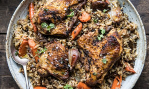 Slow Cooker Herbed Chicken And Rice Pilaf – Rice Cooker Recipes Chicken