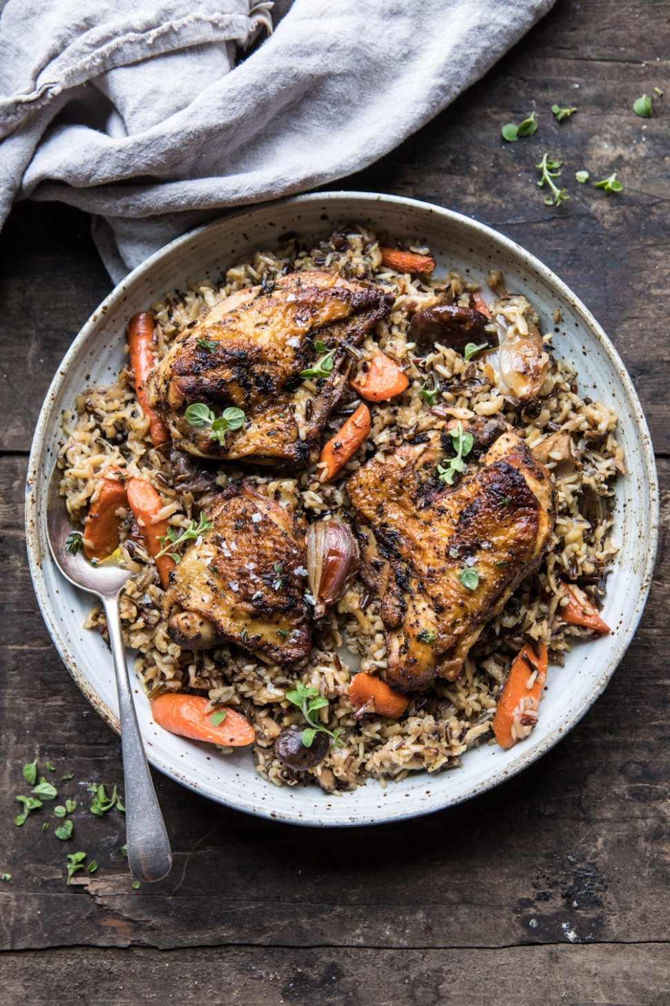 Slow Cooker Herbed Chicken And Rice Pilaf - Rice Cooker Recipes Chicken