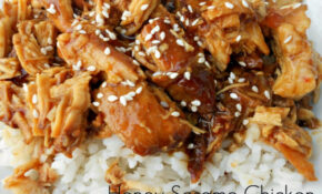 Slow Cooker Honey Sesame Chicken Recipe – Chicken Recipes For Slow Cooker