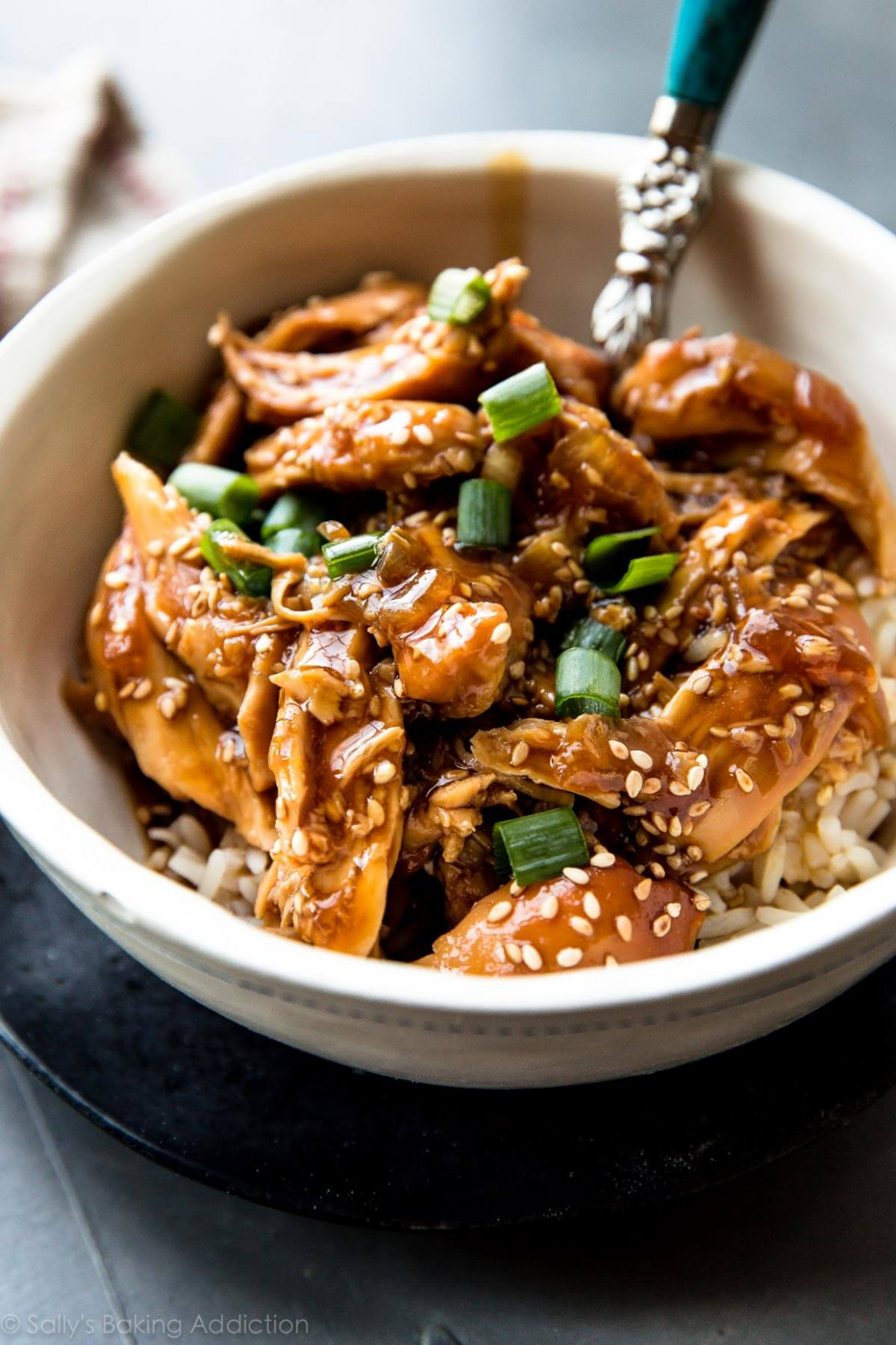Slow Cooker Honey Teriyaki Chicken - best crockpot chicken recipes