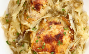 Slow Cooker/Instant Pot French Onion Chicken (Low Carb, Paleo, Whole15) – Paleo Recipes Chicken