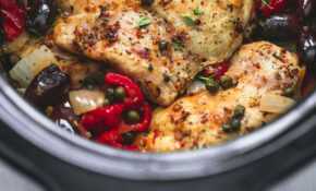 Slow Cooker Mediterranean Chicken | Creme De La Crumb – Mediterranean Recipes Chicken