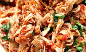 Slow Cooker Mexican Chicken Recipe – Crunchy Creamy Sweet – Mexican Recipes Chicken