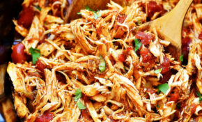 Slow Cooker Mexican Shredded Chicken – Life In The Lofthouse – Easy Slow Cooker Recipes Chicken