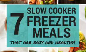 Slow Cooker Minestrone Freezer Meal – Chicken Recipes That Freeze Well