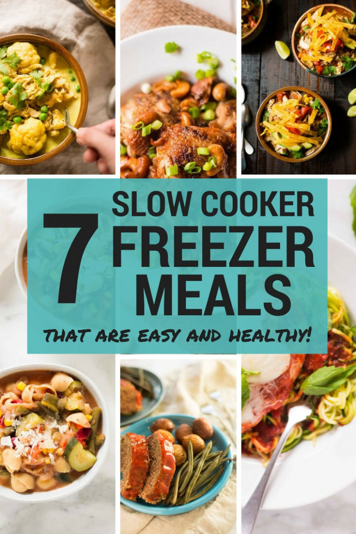 Slow Cooker Minestrone Freezer Meal - chicken recipes that freeze well