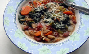 Slow Cooker Minestrone – Slow Cooker Recipes Vegetarian