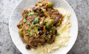 Slow Cooker Moroccan Chicken Recipe | SimplyRecipes.com