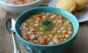 Slow Cooker Navy Bean Soup – Navy Bean Recipes Vegetarian