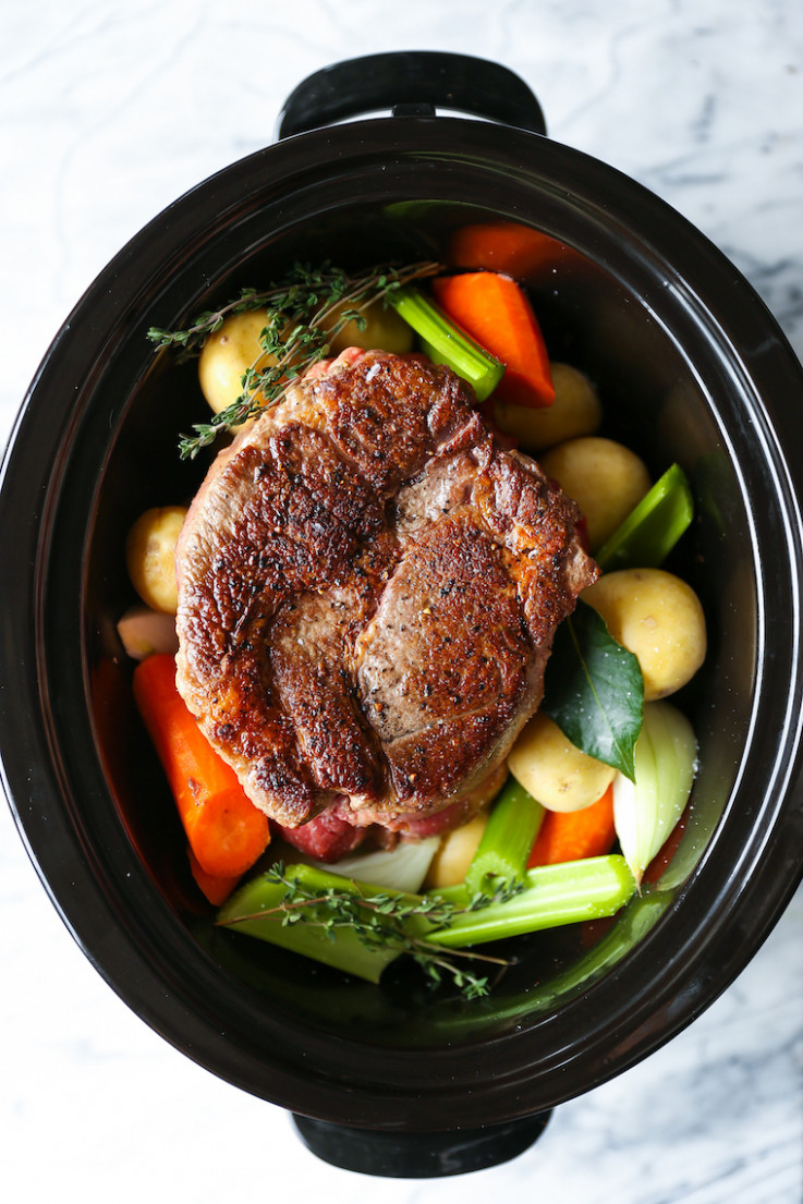 Slow Cooker Pot Roast - recipes dinner fall
