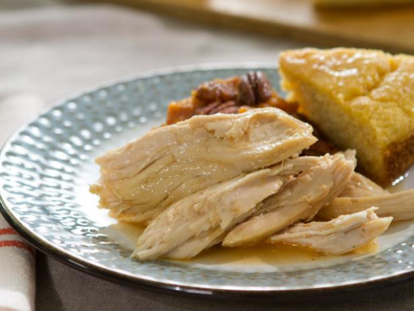 Slow Cooker Pulled Turkey Recipe | Trisha Yearwood | Food ..