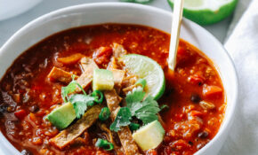 Slow Cooker Quinoa Tortilla Soup – Recipes Crock Pot Vegetarian