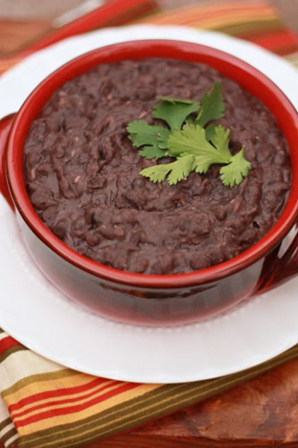Slow Cooker Refried Beans | Recipe | Healthy Fare: Side ..