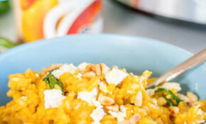 Slow Cooker Risotto  Pumpkin & Feta – Slow Cooker Recipes Nz Vegetarian
