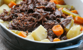 Slow Cooker Roast Beef | One Pot Dinner – Bake Play Smile – Dinner Recipes Roast Beef