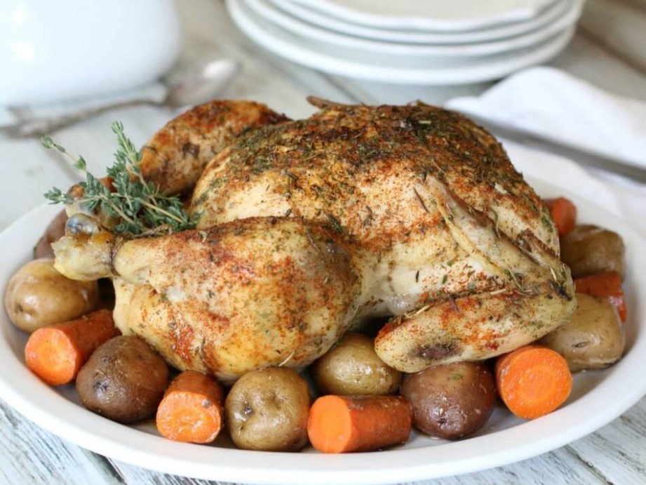 Slow Cooker Rotisserie Chicken • The Prairie Homestead - recipes for rotisserie chicken
