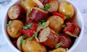Slow Cooker Sausage And Potatoes – Recipes With Sausage For Dinner