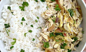 Slow Cooker Shredded Chicken And Curry Rice Bowls – Recipes Using Shredded Chicken