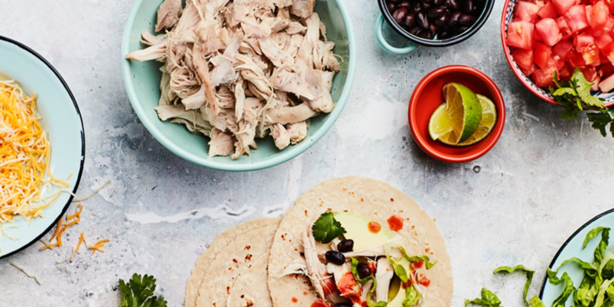 Slow-Cooker Shredded Chicken - chicken recipes epicurious