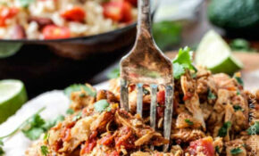 Slow Cooker Shredded Mexican Chicken – Dinner Recipes With Shredded Chicken Breast
