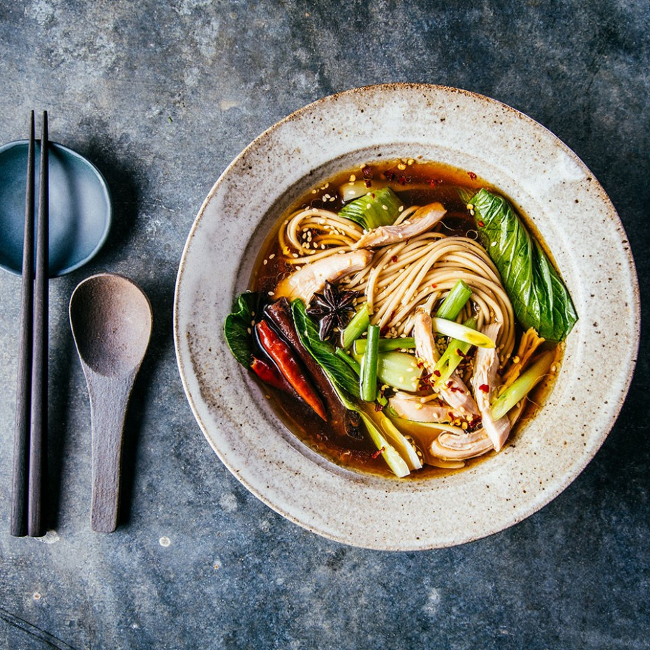 Slow Cooker Sichuan Chicken With Scallions & Baby Bok Choy - Chicken Recipes For Babies