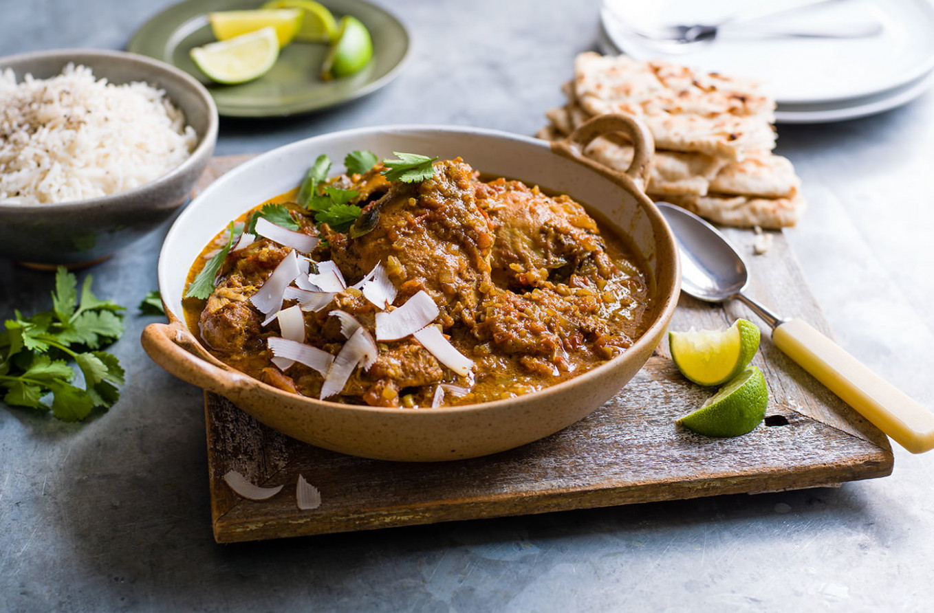 Slow Cooker South Indian Chicken Curry - Chicken Recipes South Indian