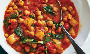 Slow Cooker Spanish Style Chickpeas Recipe | MyRecipes – Recipes For Slow Cooker Vegetarian