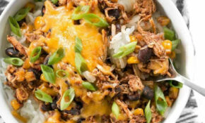 Slow Cooker Taco Chicken Bowls – Budget Bytes – Chicken Recipes Cheap