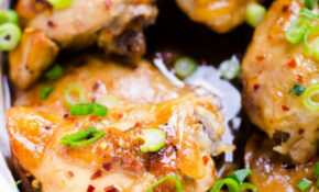 Slow Cooker Thai Chicken Thighs – IFOODreal – Healthy ..