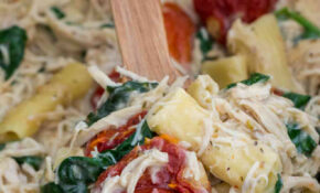 Slow Cooker Tuscan Chicken Pasta – Recipes Slow Cooker Chicken
