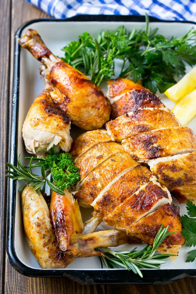 Slow Cooker Whole Chicken - Dinner At The Zoo - Dinner At The Zoo Chicken Recipes