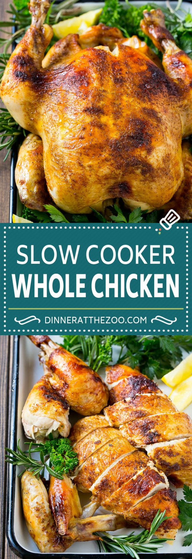 Slow Cooker Whole Chicken - recipes for whole chicken