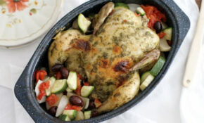 Slow Cooker Whole Chicken With Pesto And Vegetables ..