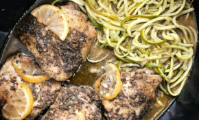 Slow Cooker Za'atar Chicken & Zoodles (Paleo,Whole12,Low ..