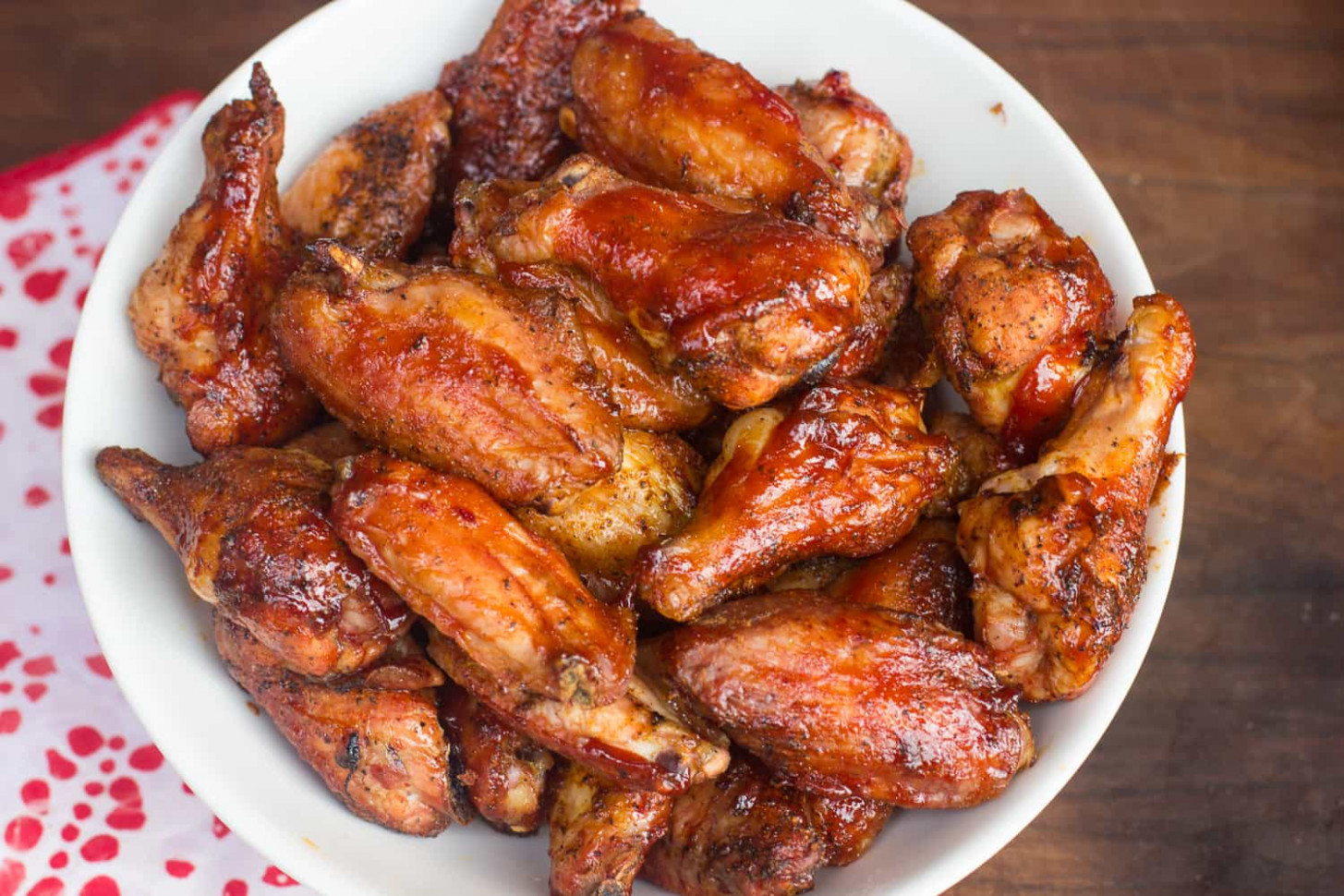 Smoked BBQ Chicken Wings - recipes smoked chicken
