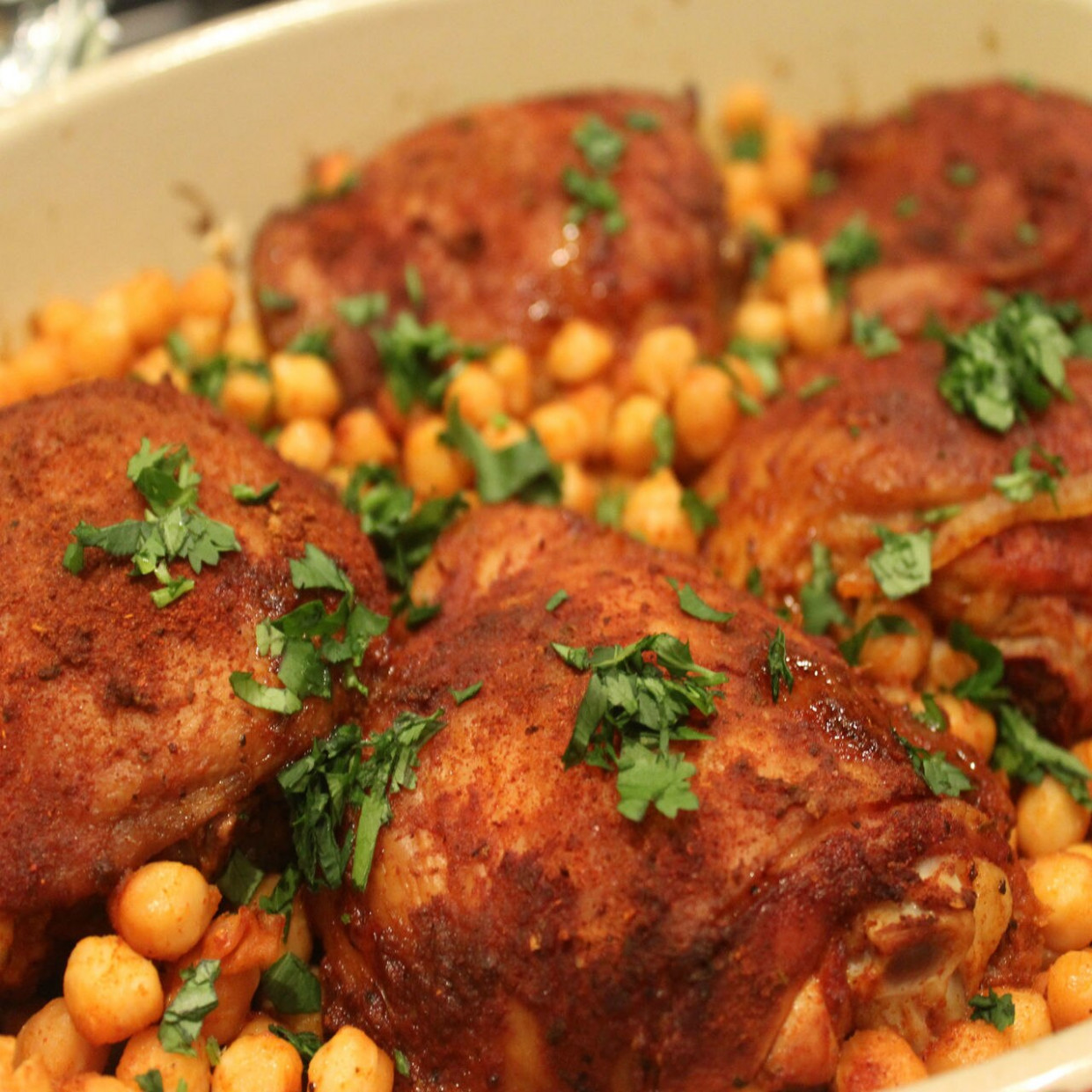 Smoked Paprika Chicken & Chickpeas - The Spice & Tea Shoppe - Recipes Paprika Chicken