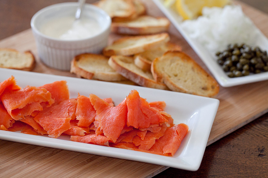 Smoked Salmon, a cool dinner on a hot evening - smoked salmon recipes dinner