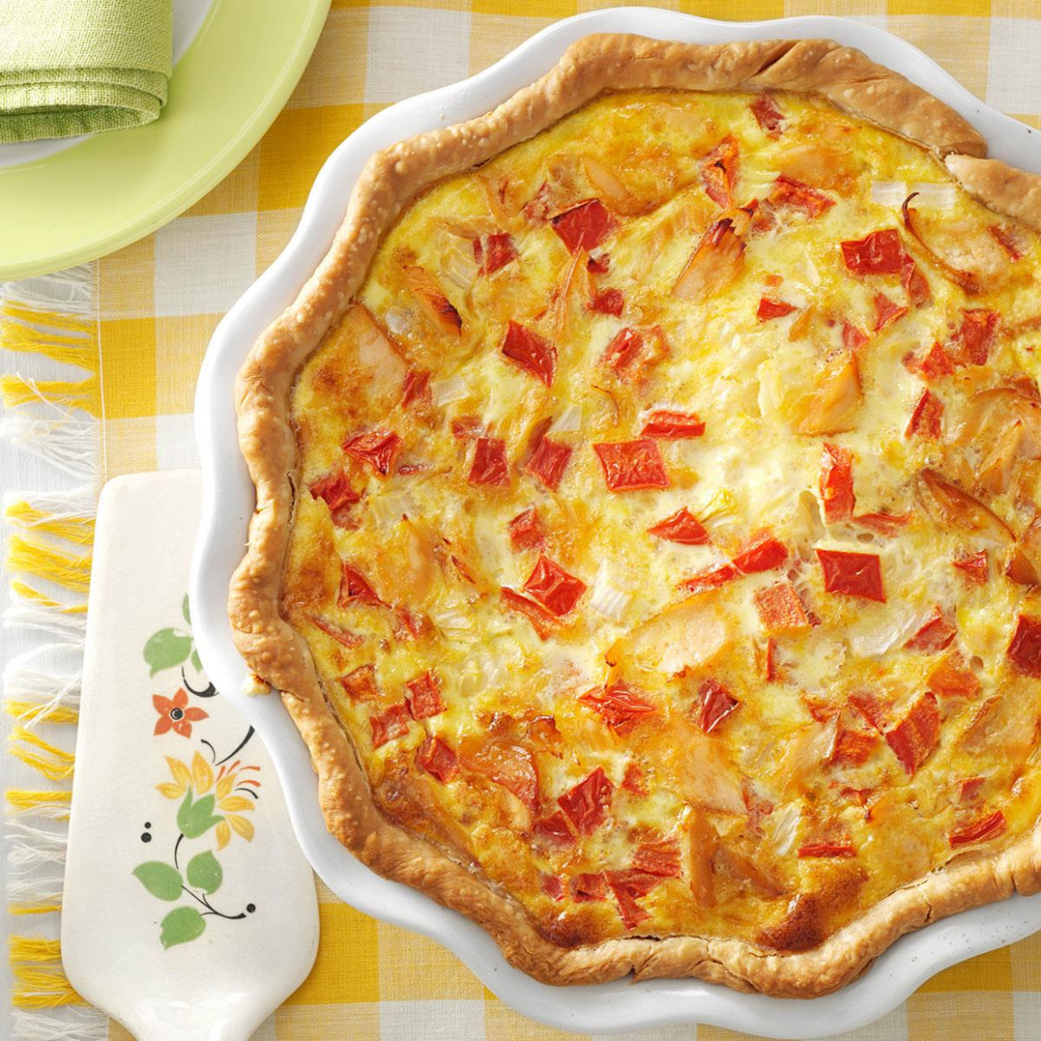 Smoked Salmon Quiche - food recipes quiche