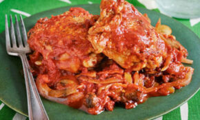 Smoky Skillet Cacciatore – Rachael Ray Every Day – Rachael Ray Recipes Chicken
