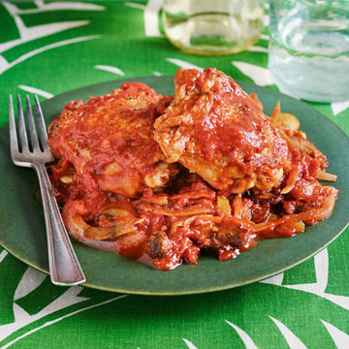 Smoky Skillet Cacciatore - Rachael Ray Every Day - Rachael Ray Recipes Chicken
