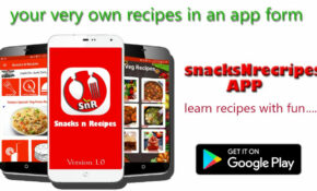 SnacksNrecipes – Food Recipes Cooking App For Android – APK ..