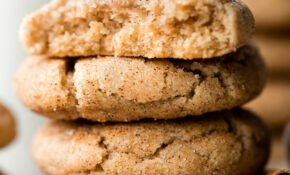 Soft & Thick Snickerdoodles – Soft Food Recipes