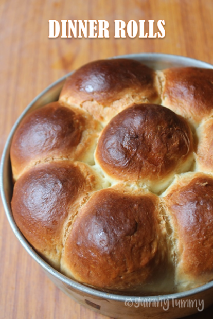 Softest Dinner Rolls Ever - Yummy Tummy