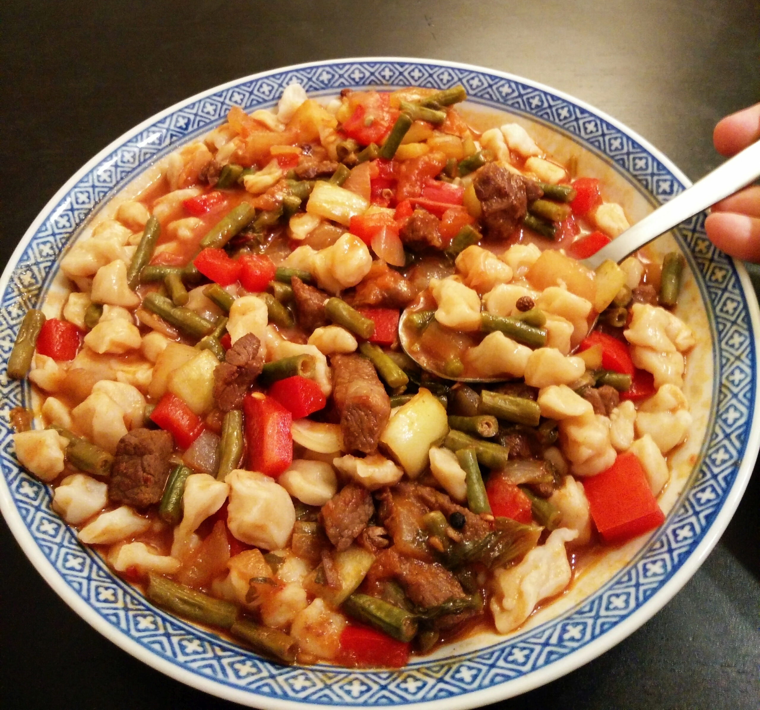 Soman: Uyghur Chopped Lagman Noodles – Silk Road Chef - Uyghur Food Recipes