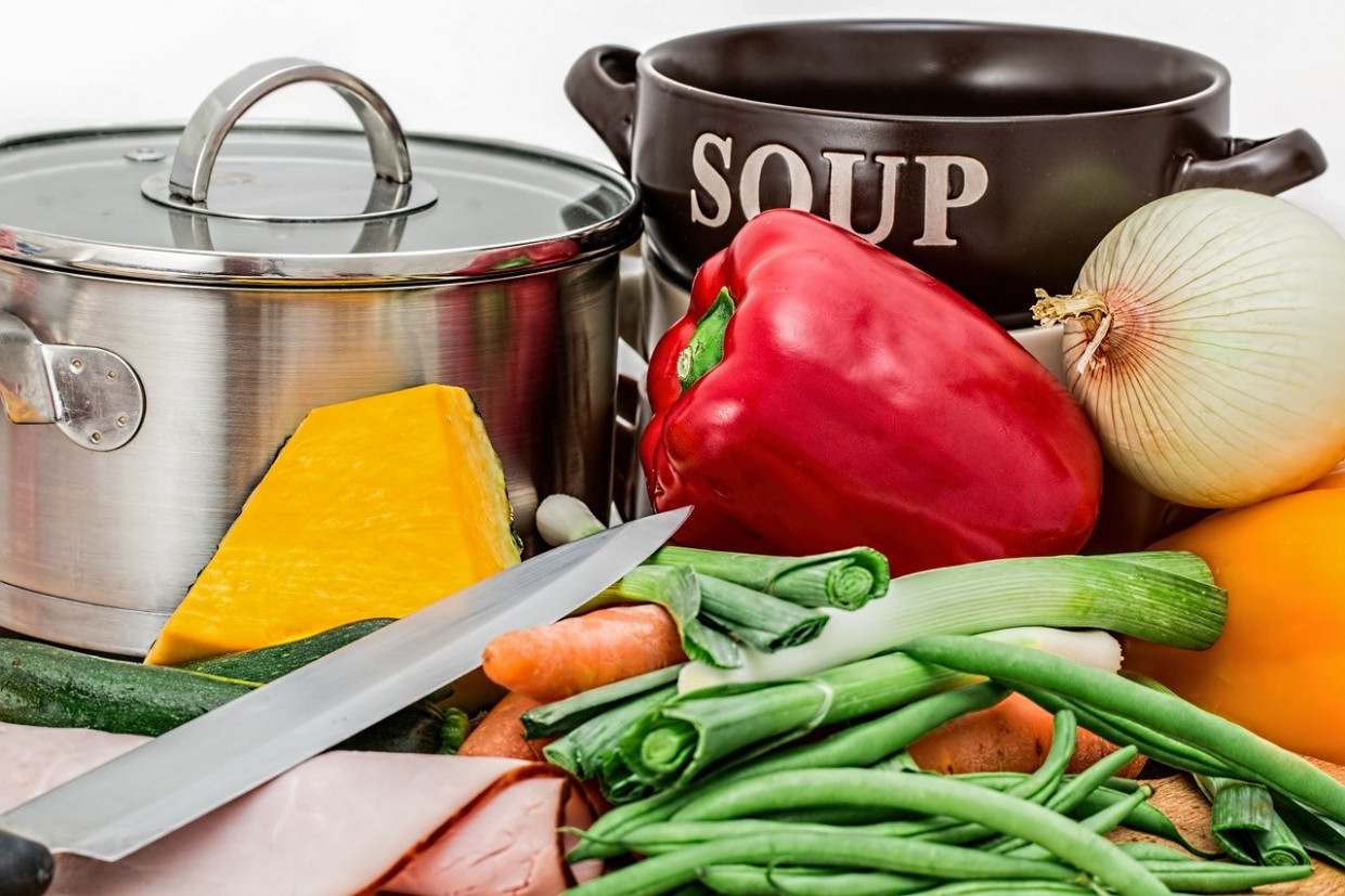 Soup, Vegetables, Pot, Cooking, Food - Healthy Recipes Vegetables