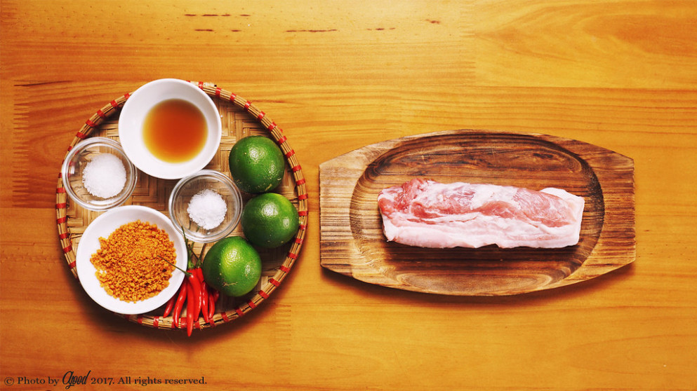 Sour and Spicy Shaken Pork Belly with Lime - food recipes videos