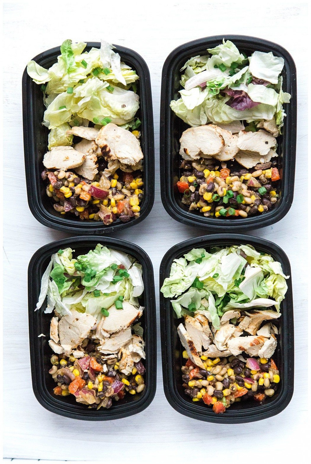 Sous Vide Southwest Chicken Salad Meal Prep - meal prep recipes chicken