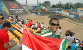 South Africa Supporter OLYMPIC BMX Laoshan Cycling Facility, Beijing China 0331 – Healthy Recipes South Africa